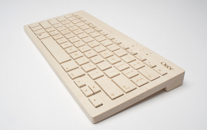 Oree Wooden Wireless Keyboard Remodelista