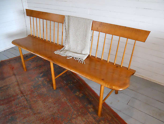 10 Easy Pieces Best Wooden Spindle Benches portrait 8