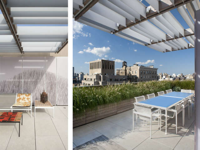 Park Avenue Roofscape: