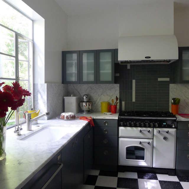 Streamline Moderne Kitchen &#8class=