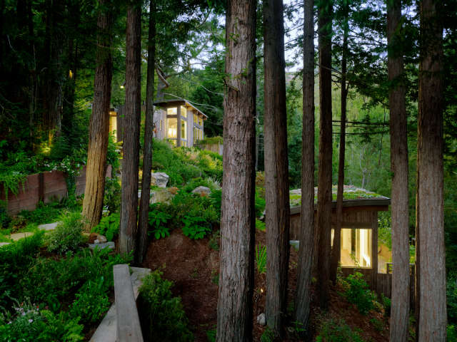 mill valley cabins, mill valley, california photo: joe fletcher 38