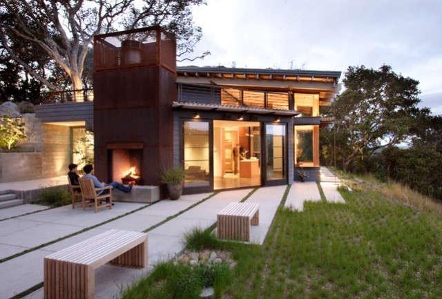 house ocho, santa lucia preserve, california photo: paul dyer 41