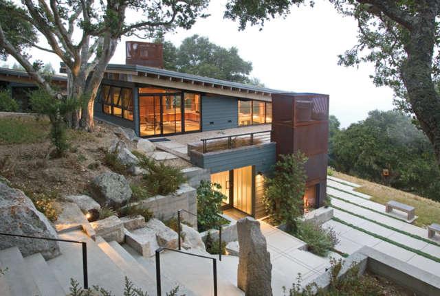 house ocho, santa lucia preserve, california photo: kodiak greenwood 40