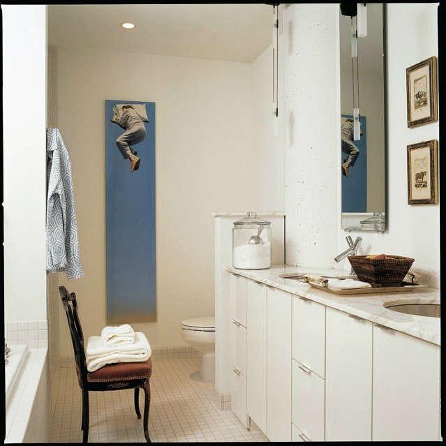 White Loft Master Bath &#8