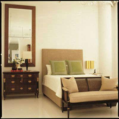 White Loft Modern Bedroom &#8