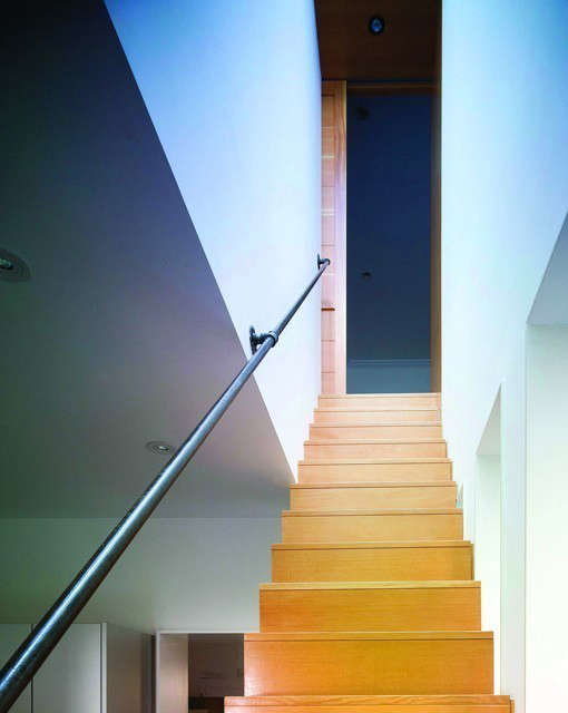 a minimalist stair for the traditional harlem townhouse: click here for more in 71