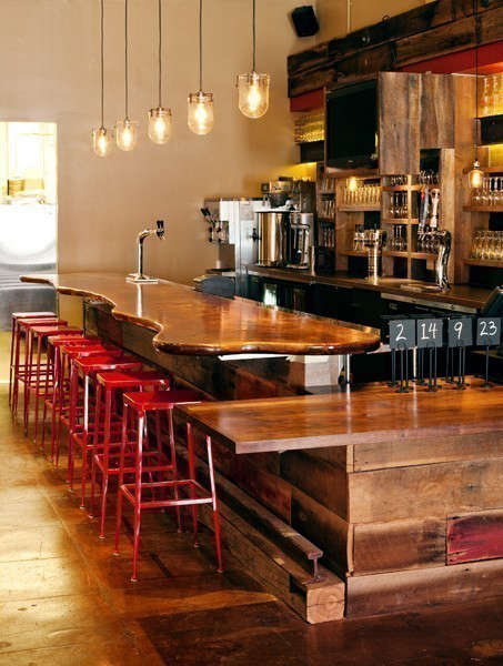 Roam Artisan Burgers: Roam Artisan Burgers features organic and sustainable meat and produce, with house-made condiments and sodas, kombucha on tap, and Strauss organic shakes. Salvaged barn siding from Black&#8