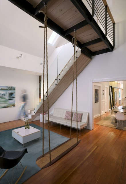 clayton street residence: when purchased by the current owners, this \19th cent 9