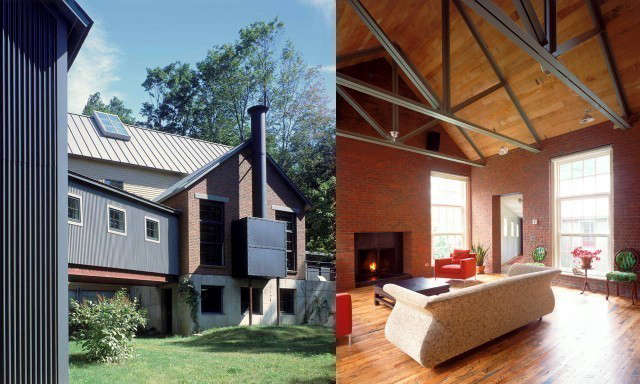 berkshires house vii: an adventurous pair of houses for two brothers, avid fans 17