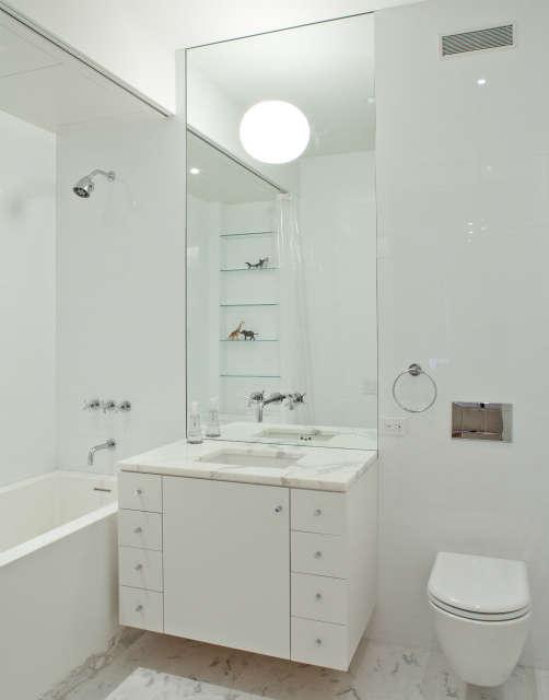 tribeca loft, nyc &#8\2\1\1; children&#8\2\17;s bathroom in tribeca. 10