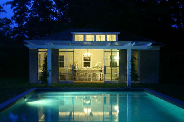 east hampton, ny &#8\2\1\1; garage renovation into pool house 46