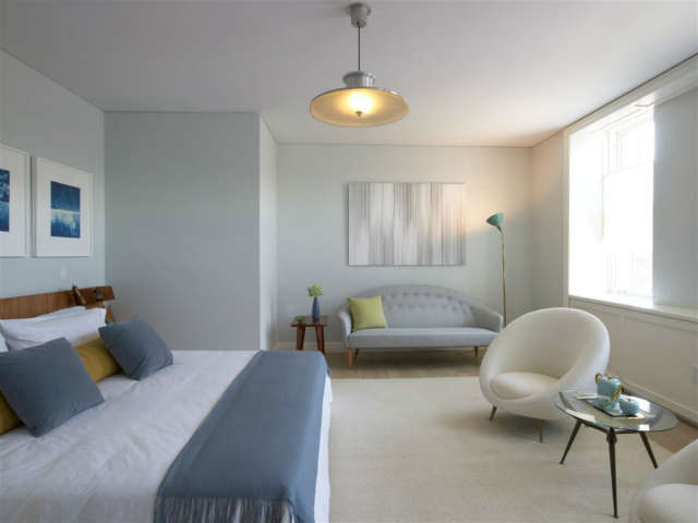 West Village Master Bedroom: an Urban Sanctuary&#8class=