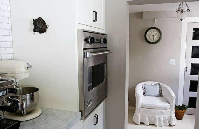 kitchen toward vestibule: a small and wonderfully functional kitchen, walking t 10