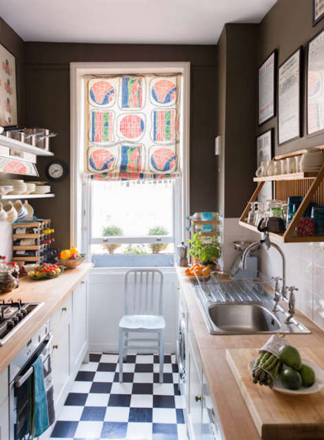 A kitchen, London:
