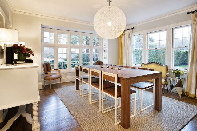 Geremia Design Palo Alto Residence Dining Room &#8\2\1\1; The dining room of a Geremia Design residential project located in Pao Alto, CA. Visit our website for more information.