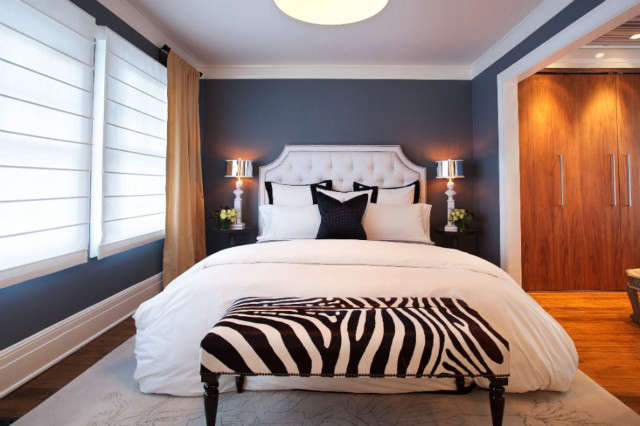 Geremia Design Pao Alto Residence Bedroom &#8\2\1\1; The bedroom of a Geremia Design residential project in Pao Alto, CA. Visit our website for more information.