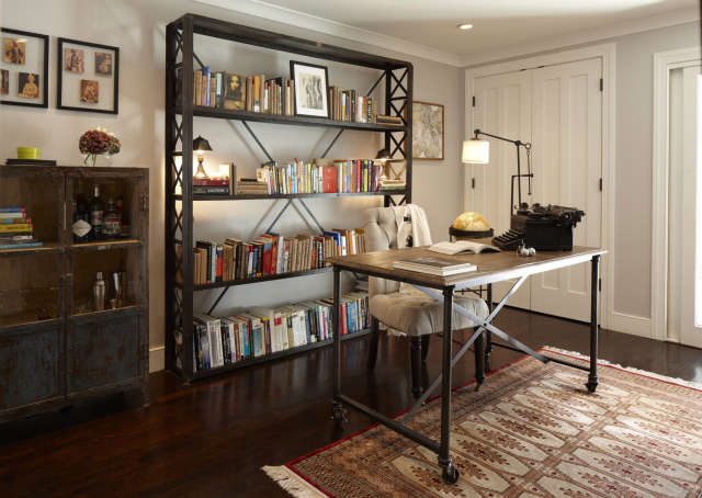 Geremia Design Noe Valley Residence &#8\2\1\1; Office/Library of a Geremia Design residential project in San Francisco, CA. Visit our website for more information.