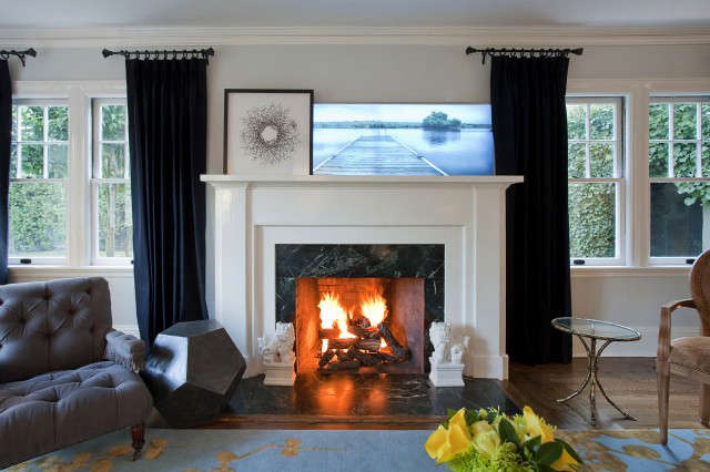 Geremia Design Pao Alto Residence Fireplace &#8\2\1\1; A Geremia Design Residential Project. Visit our website for more information.