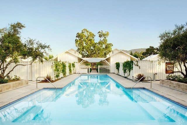 Solage Spa Pool & Bathhouse &#8