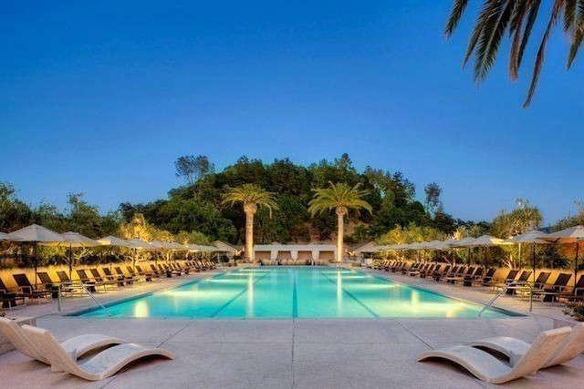 Solage Calistoga Pool &#8