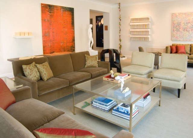 Manhattan Apartment: 90° Coffee Table