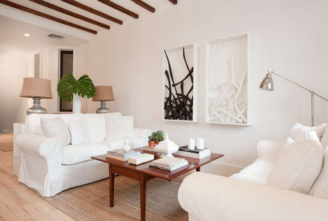th St Duplex Living Room
