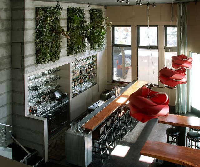 vertical gardens at maven: designed by daniel nolan, vertical gardens at a gour 22