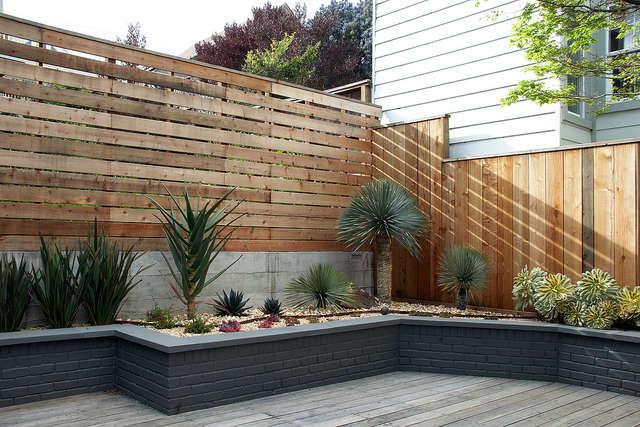 succulent beds surround a deck &#8\2\1\1; flora grubb gardens designer patr 17