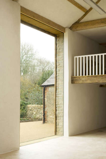 Oxfordshire Farm: In collaboration with James Gorst Architects Photo: Alex Franklin