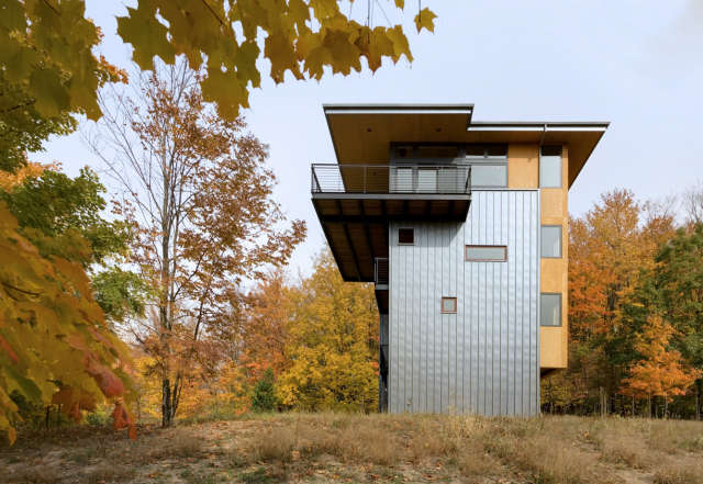 glen lake tower: the tower house is the result of an inspiring collaboration be 51
