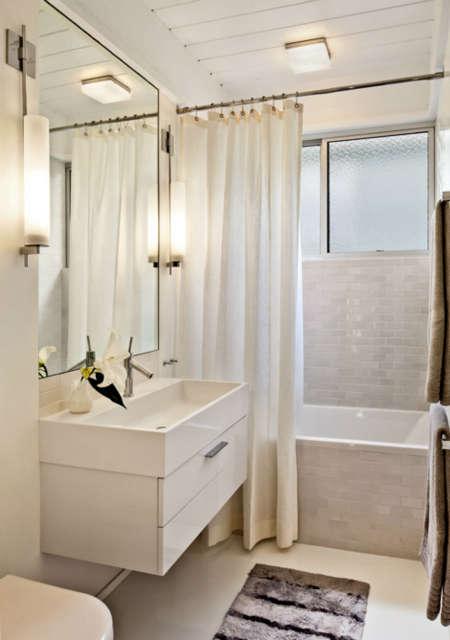 Carmel Mid-Century LEED Guest Bath &#8class=