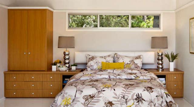 Carmel Mid-Century LEED Master Bedroom &#8class=