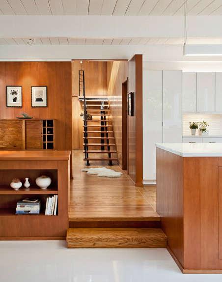 Carmel Mid-Century LEED Kitchen &#8class=