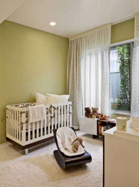 Carmel Mid-Century LEED Nursery &#8class=