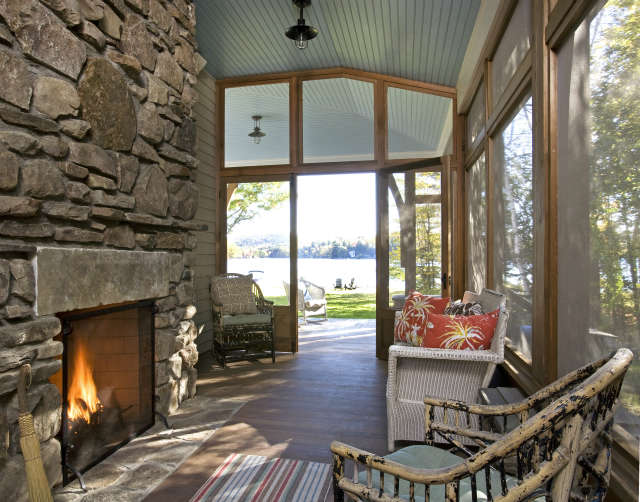 Screened Porch | Photo: Alec Marshall
