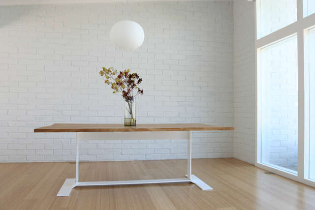 belvedere table: custom dining table. photo: christopher c. deam 14