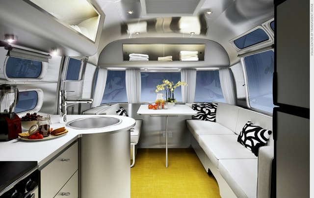 airstream sterling: the newest production interiors for airstream. photo: chris 17