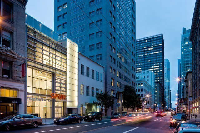 spur urban center: located in the soma district, the new ground up, four story, 18