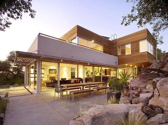 wine country retreat: the design for this 4,000 sf private residence responded  9