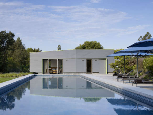 Schwartz and Architecture Sonoma Pool House