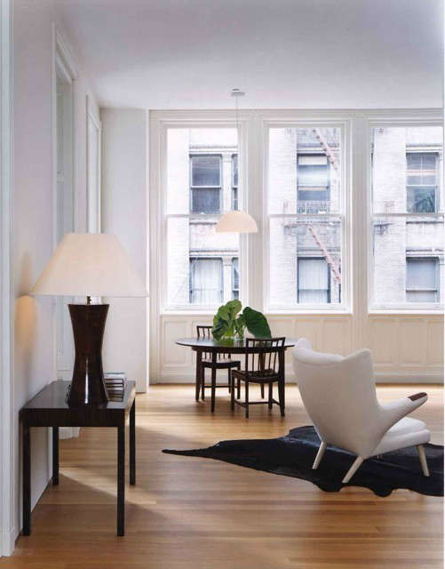 breakfast dining area &#8\2\1\1; 644 broadway loft, new york, new york 12