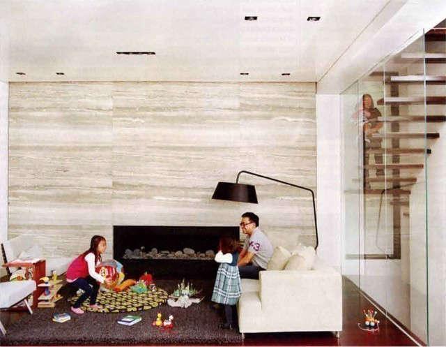 fireplace &#8\2\1\1; hsu residence, flushing, new york 15