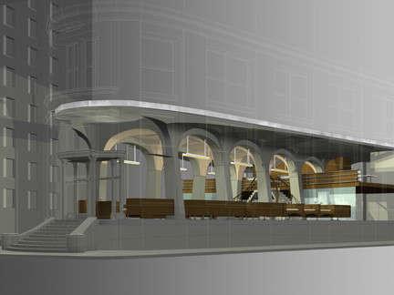 OGAWADEPARDON Ugolino Restaurant proposal: Ugolino Restaurant proposal &#8\2\1\1; A new restaurant designed explicitly to showcase an elegant, refined, & yet clean, simple fresh cuisine.