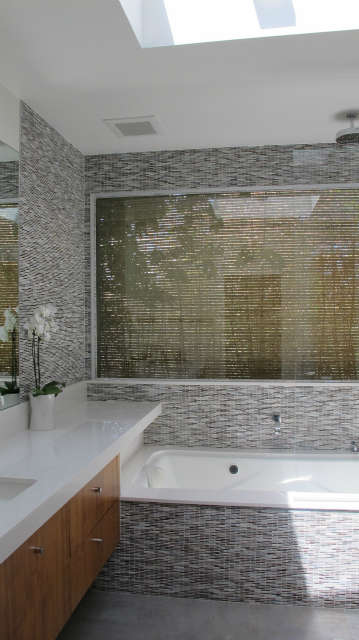 Mid-Century House for Today, master bath