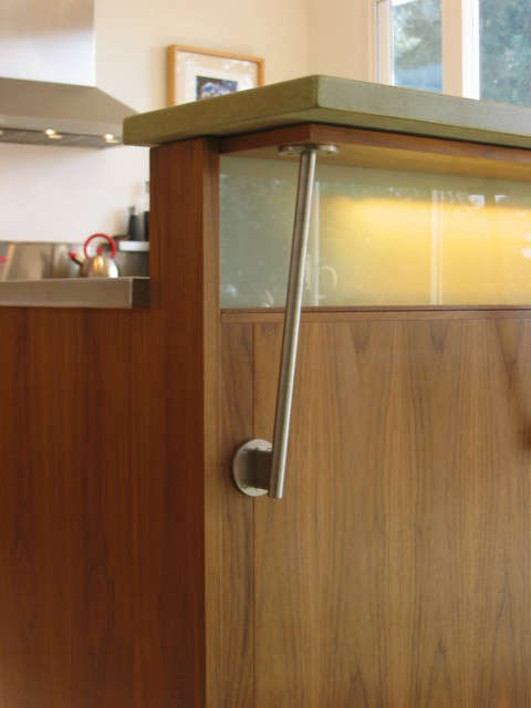 Mid-Century House for Today, kitchen detail