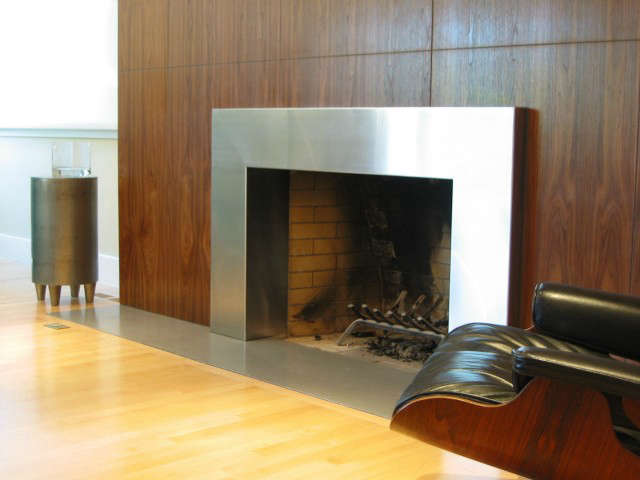 Ranch Remodel, fireplace
