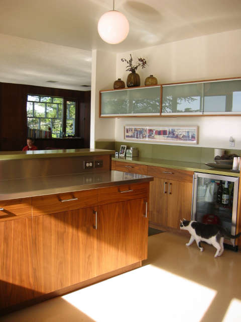 Mid-Century House for Today, kitchen