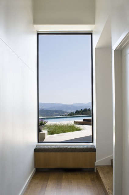 ridge house: views are complemented by the interior architecture and furnishing 10