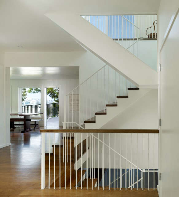 potrero residence \1: the new stair speaks to the history of the house through  15
