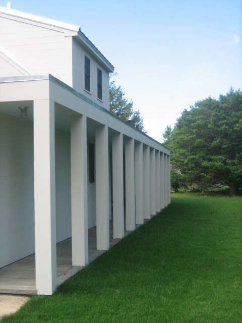 waterfront house, little compton, ri: this project is a complete renovation of  9